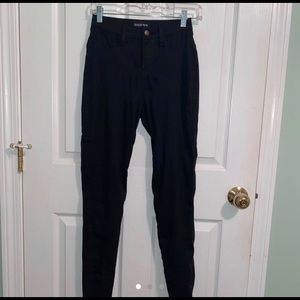 Fashion Nova black high waisted jeans size 5